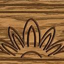 Тонировка №002 Светлый дуб с коричневой патиной